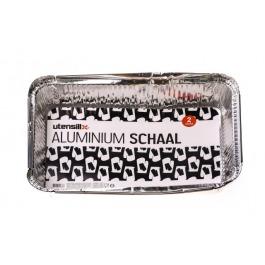 Aluminium schaal 2 stuks rechthoekig