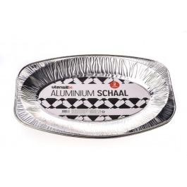 Aluminium schaal 2stuks ovaal