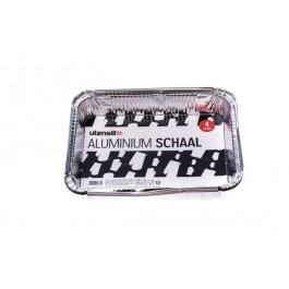 Aluminium schaal 4 stuks