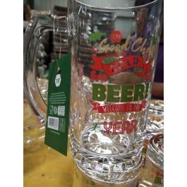Bierglas feestdagen