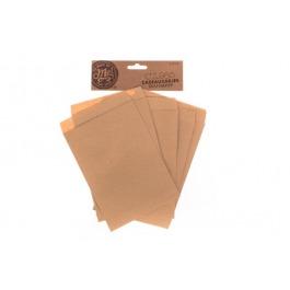 Cadeauzakjes kraftpapier (cz.985) 6 stuks