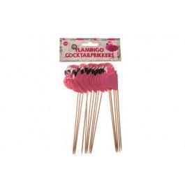 Cocktailprikker flamingo 16 stuks