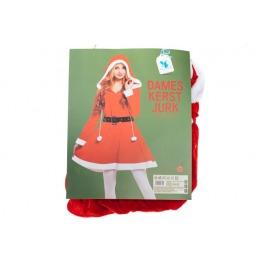 Dames kerst jurk met cauchon