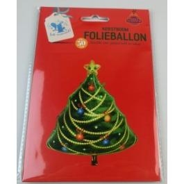 Folieballon kerstboom