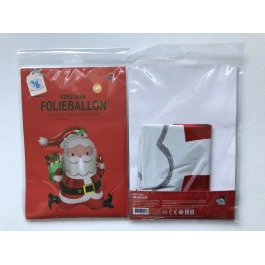 Folieballon kerstman XL