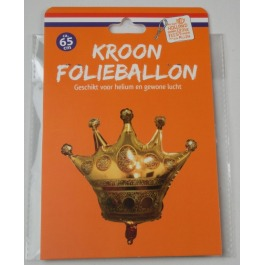 Folieballon kroon