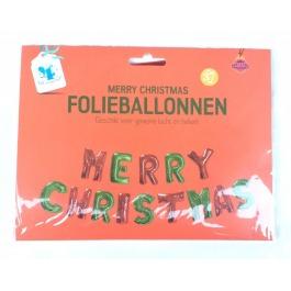 Folieballonnen merry christmas
