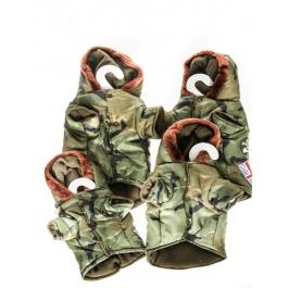 Hondenjasje met capuchon army