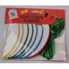 Kerstlampjes honey combslinger