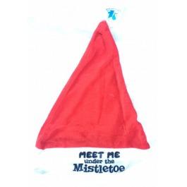 "Kerstmuts ""meet me under the mistletoe"""