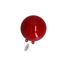 Kunstof bal rood