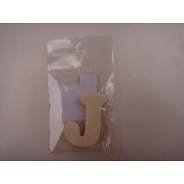 Letter hout J