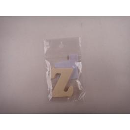 Letter hout Z