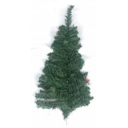 """Muur - kerstboompje groen """"half"""""""