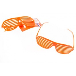 Partybril oranje
