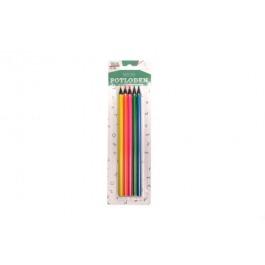 Potloden neon 5 stuks