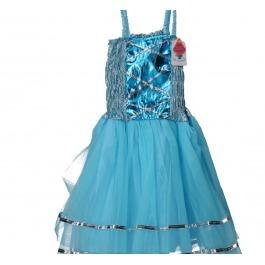 Prinsesenjurkje blauw