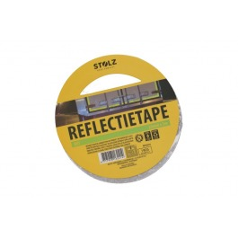 Reflectie tape wit 25mmx5m