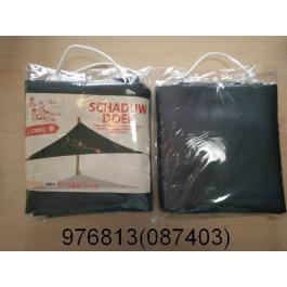 Schaduwdoek 3,50*3,60 m