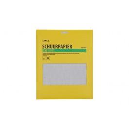 Schuurpapier 150 middel 5 stuks