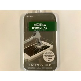 Screenprotector iPhone 6/7/8 gehard glas