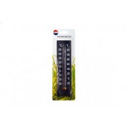 Thermometer zwart op kaart