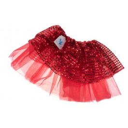 Tutu glitter rood small