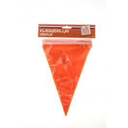 Vlaggenlijn oranje 4't moment