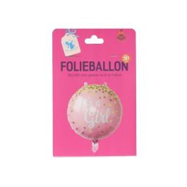 It's a girl folieballon