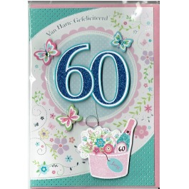 95 60 jaar vrouw