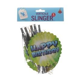 Slinger verticale HAPPY BIRTHDAY 2 meter