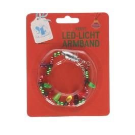Armband kerst met ledlicht