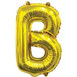Ballon letter goud B