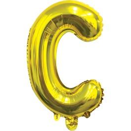 Ballon letter goud C