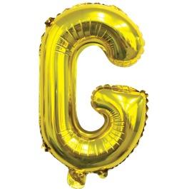 Ballon letter goud G