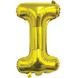 Ballon letter goud I