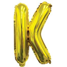 Ballon letter goud K