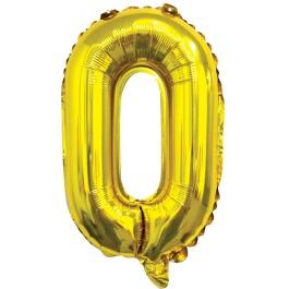 Ballon letter goud O