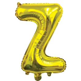 Ballon letter goud Z