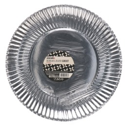 Bordjes zilver 10 stuks groot