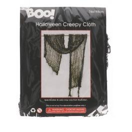 Creepy Cloth Zwart 76X198