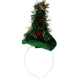 Diadeem Kerstboom Glitter