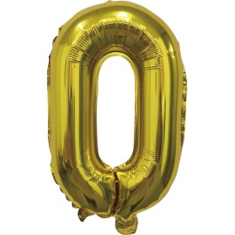 Folieballon goud xl 0