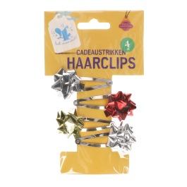 Haarclips Cadeaustrikken 4 St
