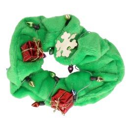 Haarscrunchie Groen Kerst
