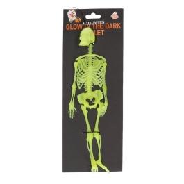 Halloween glow in the dark skelet