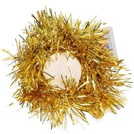 Kerst Haarelastiek Goud