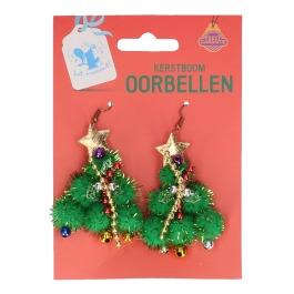 Kerstboom oorbellen (#777)