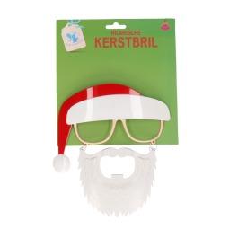Kerstbril Santa Met Baard