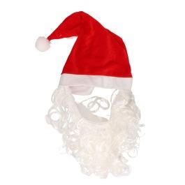 Kerstmuts met baard